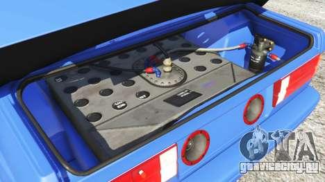 BMW M3 (E30) 1991 для GTA 5 вид спереди справа