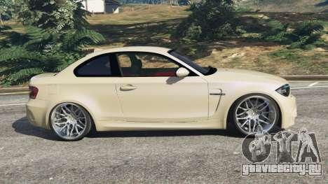 BMW 1M v1.1 для GTA 5 вид слева