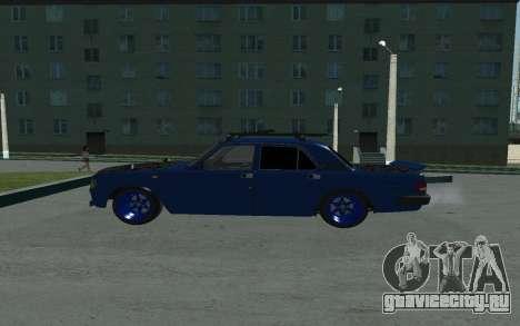 GAZ 3110 Volga для GTA San Andreas вид слева