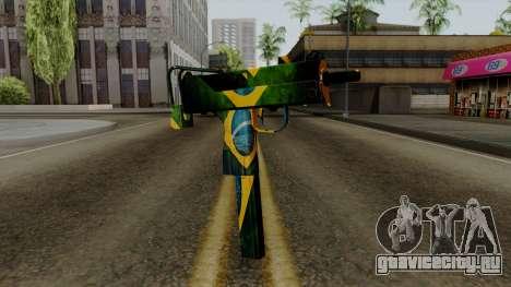 Brasileiro Micro Uzi v2 для GTA San Andreas
