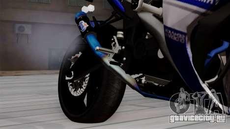 Yamaha YZF R-25 GP Edition 2014 для GTA San Andreas вид справа