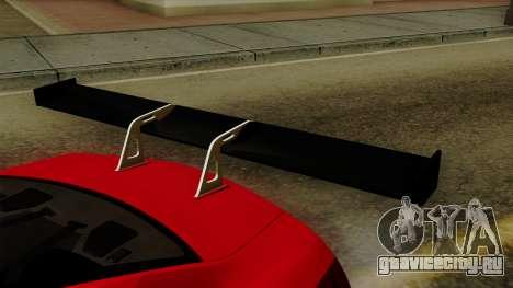 Nissan GT-R Liberty Walk Performance для GTA San Andreas вид сзади