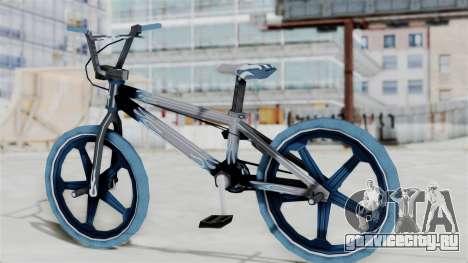 Custom Bike from Bully для GTA San Andreas вид слева