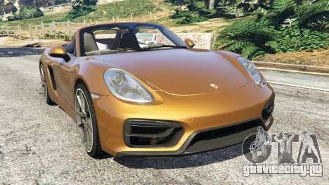 Porsche Boxster GTS для GTA 5
