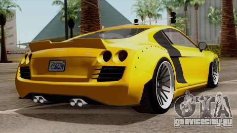 Obey 9F Liberty Works v1.0 для GTA San Andreas вид слева