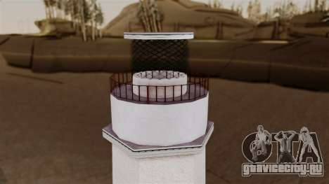 LS Santa Maria Lighthouse для GTA San Andreas четвёртый скриншот