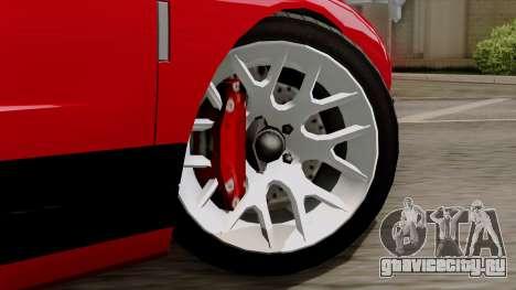 Vapid Bullet GT-GT3 для GTA San Andreas вид сзади слева