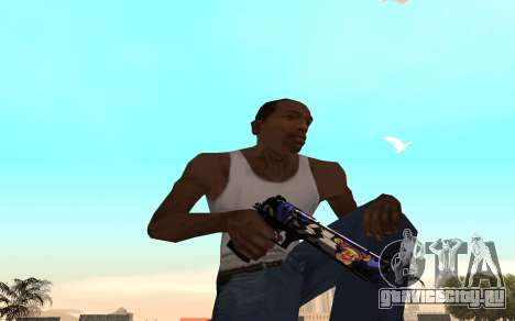 Desert Eagle с тигрёнком для GTA San Andreas