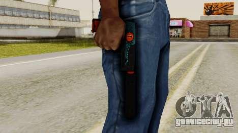 USP-S Caiman для GTA San Andreas третий скриншот