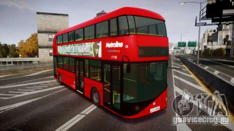 Wrightbus New Routemaster Metroline для GTA 4