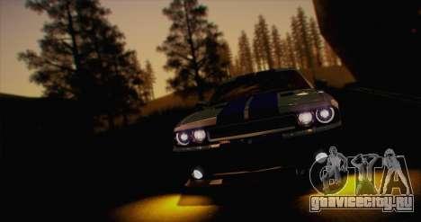 ENB White_SA v1.0 для GTA San Andreas четвёртый скриншот