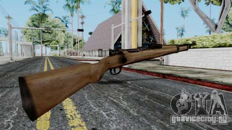 Kar98k from Battlefield 1942 для GTA San Andreas второй скриншот