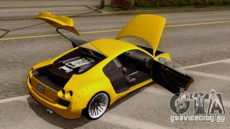 Obey 9F Liberty Works v1.0 для GTA San Andreas вид сзади