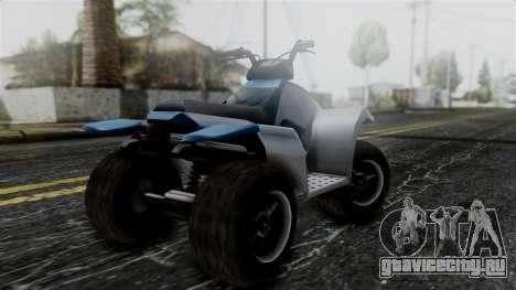 Updated Quad для GTA San Andreas вид слева