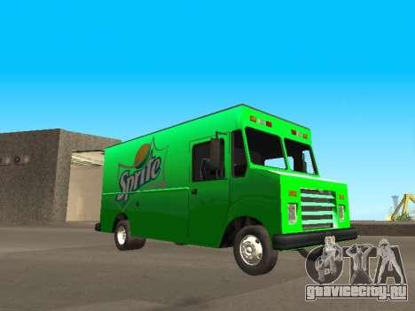 Boxville Sprite для GTA San Andreas