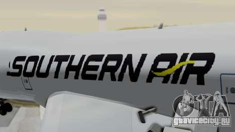 Boeing 747 Southern Air для GTA San Andreas вид сзади