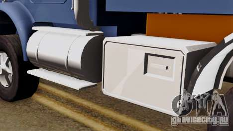 Kenworth T800 для GTA San Andreas вид справа