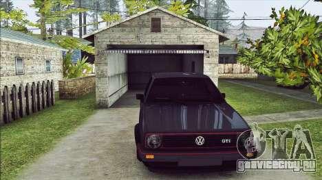 Volkswagen Golf Mk2 Line для GTA San Andreas вид слева