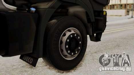 Volvo Truck from ETS 2 для GTA San Andreas вид сзади слева