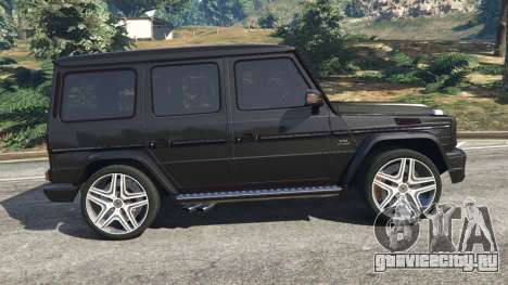 Mercedes-Benz G65 AMG v0.1 [Alpha] для GTA 5 вид слева