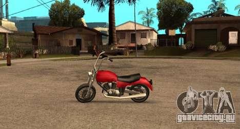 Deamon SA Style для GTA San Andreas вид слева