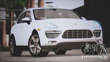 Porsche Cayenne Turbo 2012 для GTA San Andreas