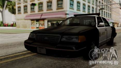Ford Crown Victoria LP v2 Sheriff для GTA San Andreas