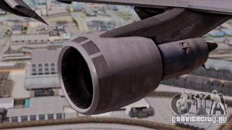 Boeing 747-100 British Overseas Airways для GTA San Andreas вид справа