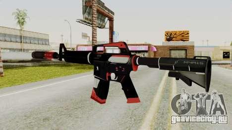 M4A1-S Cyrex для GTA San Andreas второй скриншот