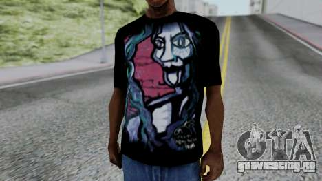 Shirt from Jeff Hardy v2 для GTA San Andreas