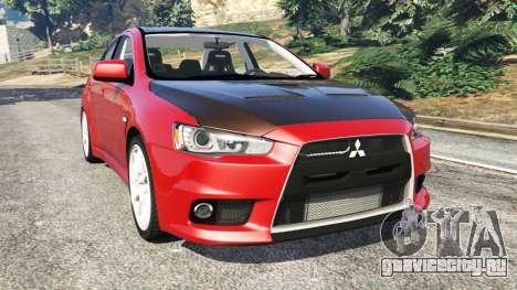 Mitsubishi Lancer Evolution X для GTA 5