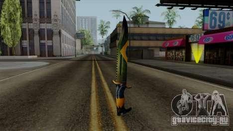 Brasileiro Knife v2 для GTA San Andreas второй скриншот