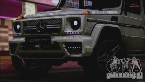 Mercedes Benz G65 AMG 2015 Topcar Tuning для GTA San Andreas вид сверху