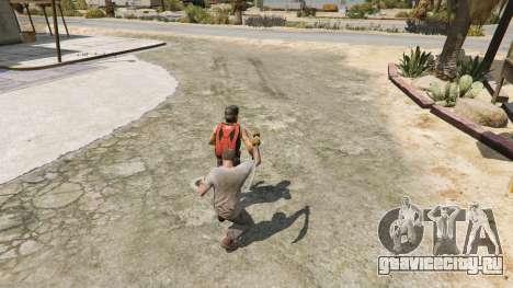Скимитар из Skyrim для GTA 5 пятый скриншот
