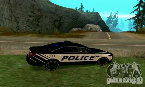 Federal Police Ford Taurus HSO для GTA San Andreas вид слева