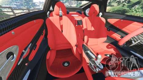 Pagani Huayra для GTA 5 колесо и покрышка