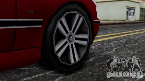 BMW M5 E39 SA Style для GTA San Andreas вид сзади слева