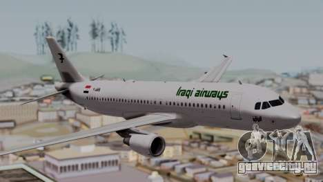 Airbus A320-200 Iraqi Airways для GTA San Andreas