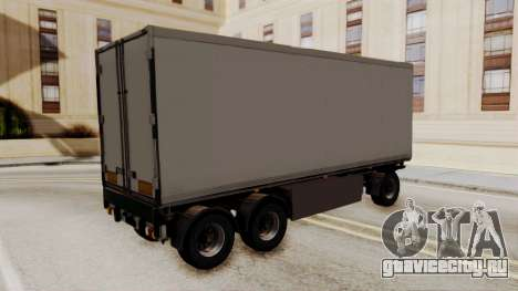 Cooliner Trailer from ETS 2 для GTA San Andreas вид слева