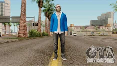 H2O Delirious Skin для GTA San Andreas второй скриншот