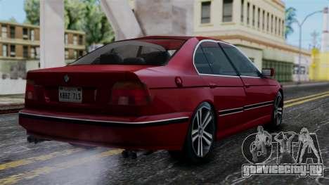 BMW M5 E39 SA Style для GTA San Andreas вид слева