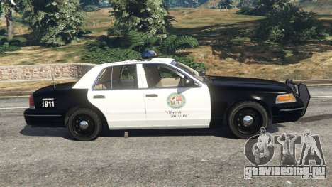 Ford Crown Victoria 1999 Police v1.0 для GTA 5