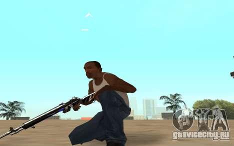 Rifle с тигрёнком для GTA San Andreas четвёртый скриншот