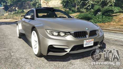 BMW M4 F82 WideBody для GTA 5