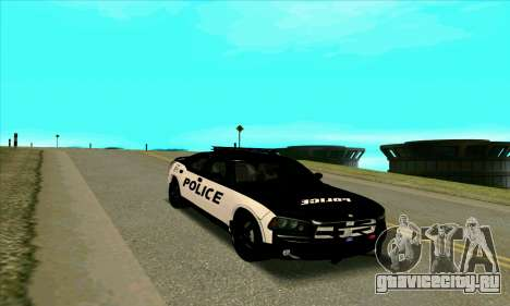 Federal Police Dodge Charger SRT8 для GTA San Andreas