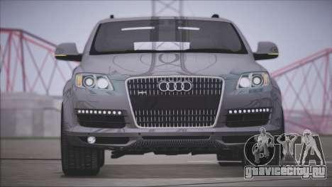 Audi Q7 2008 для GTA San Andreas вид слева