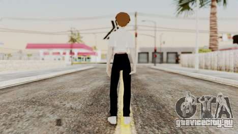 Shinji Ikari (Evangelion) для GTA San Andreas третий скриншот