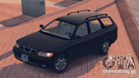 Daewoo Nubira I Wagon US 1999 - FINAL version для GTA 5 вид сзади слева