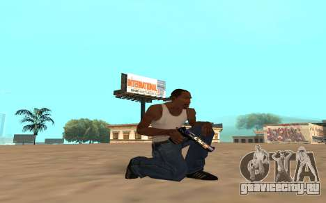 Desert Eagle с тигрёнком для GTA San Andreas четвёртый скриншот