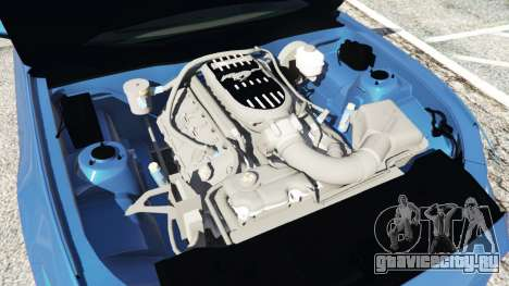 Ford Mustang GT 2015 для GTA 5 вид спереди справа